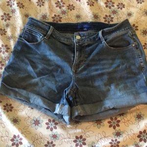 Apt 9 Women's Jean Shorts Size 10